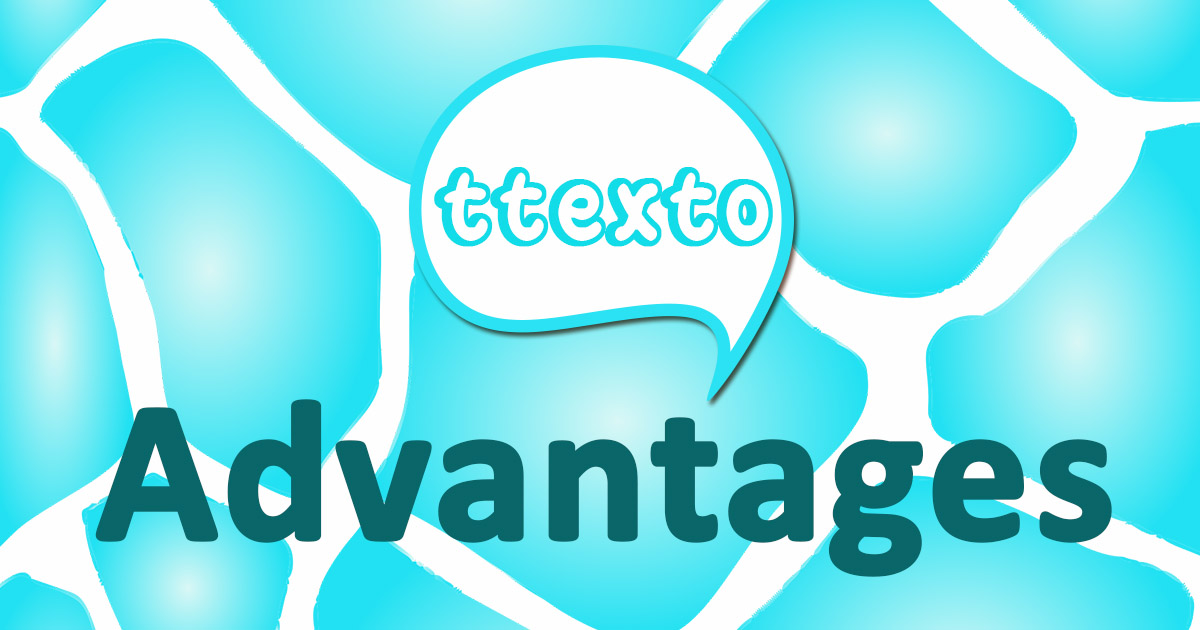 Benefits of ttexto Instant Chat